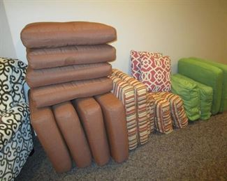 Ballard (sunbrella) cushions that are included w/ outdoor sets