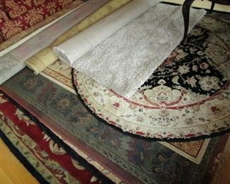 Some of the rugs!!