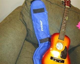 Guitar + case