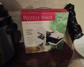 Prego series pizzelle maker