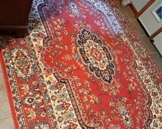 RUG IN KITCHEN, TURKISH GREAT COLOR