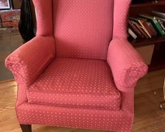 VERY HEAVY CHAIR, GREAT SHAPE AND NICE COLOR