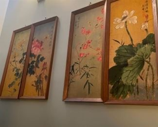 FOUR SEASONS ORIENTAL PANELS