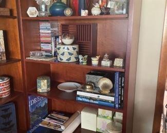 BERNHARDT BOOKS SHELVES, PAIR AVAILABLE