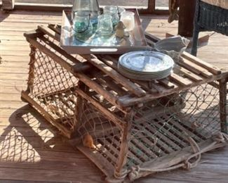 VINTAGE LOBSTER TRAP FROM MAINE