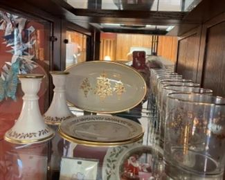 LOTS OF LENOX  ITEMS INCLUDING CHRISTMAS