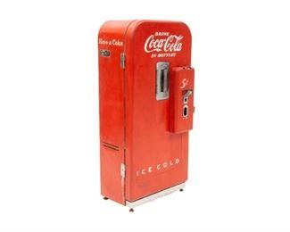 Retro Coca-Cola vending machine