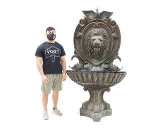 "Massive Lion bath 83 x 49 x 21"""