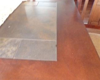 dining table w/tile top