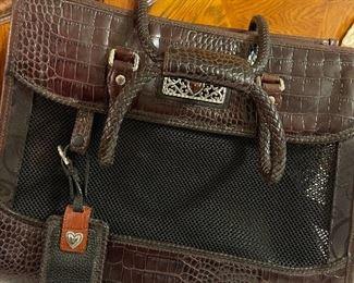 Brighton dog carrier handbag. In excellent condition.