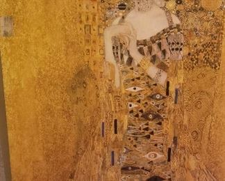 "Gustav Klimt reproduction ""THE WOMAN IN GOLD"""