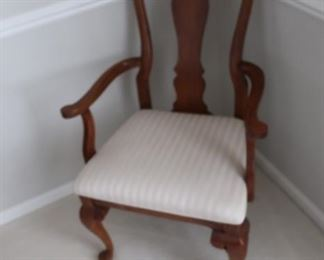 chair  from  dining  room  set-  8  chairs