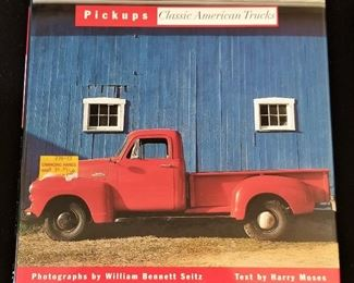 Book on Pickups Classic American Trucks. We also have a lot of Classic Pickup models for sale.