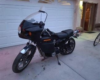 #19 • 1973 Honda 750 Tour VIN: CB750-2048071 Plate:  059790 Washington  Motor No: CB750E-3T55801 Mileage: 23048