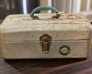 Vintage tackle box. Watertite by Union Chests