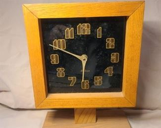 Mid Century Modern Square clock* highly collectable.