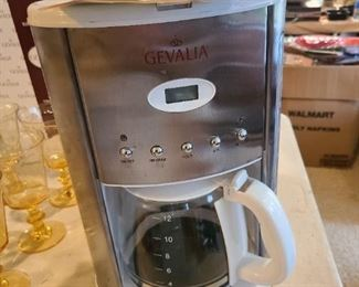 Gevalia caffe maker, 2 x each with original box.
