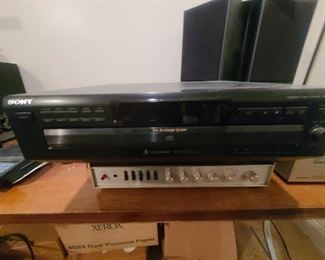 Sony Compact Disc Player Cdp-c260z   $100.00