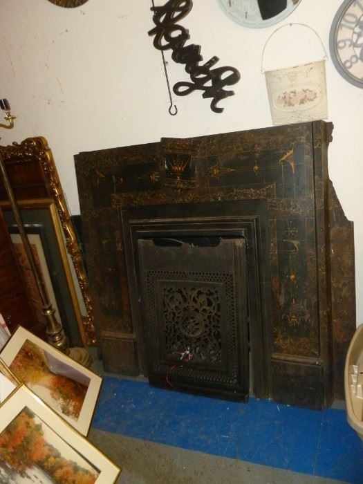 Awesome Art Deco Fireplace Cover