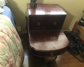 one of two nightstands