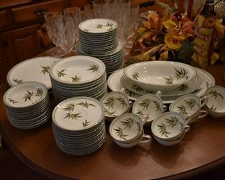 Gorgeous early Noritake China Service for 12