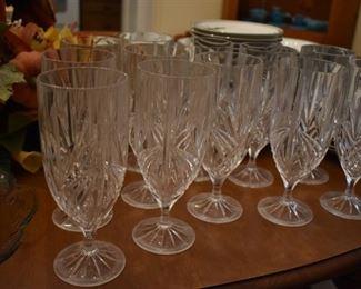 Beautifule Set of Crystal Stemware