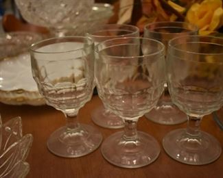 Extremely Collectible Set of Stemware very old