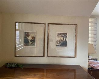 """Paintings shown together (approx 24""""x 36"""" each)"""
