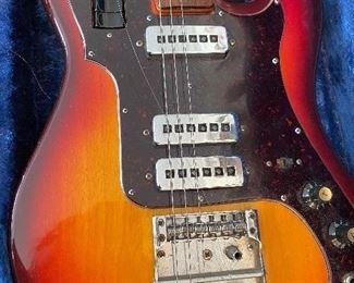 Vintage 1960's Conrad Sunburst Electric Guitar