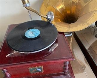 Replica of the Grammaphone