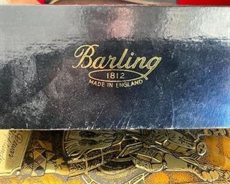 VIntage Barling Pipe Dust Jacket Box