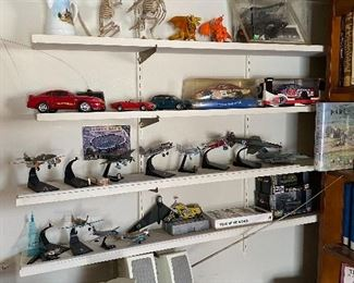 Mini War Airplanes, Cars