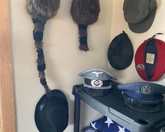 Davy Crockett..Racoon Hats