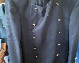 Civil War Reenactment Blue Frock Coat