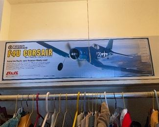 F4U Corsair Electric Airplane NRFB