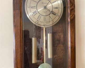 Bulove Tube weights Clock