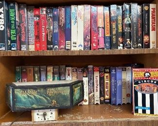VHS TAPES in the KITCHEN!!