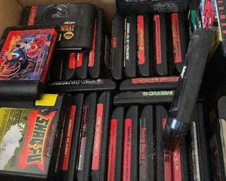 Retro Gaming..Sega Genesis  Games