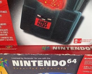 RETRO GAMING!! Nintendo 64/ Box Controller
