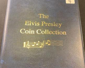 Elvis Presley coin collection