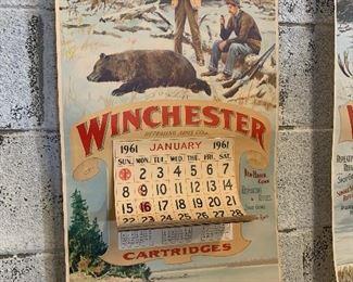 Winchester calendar advertising
