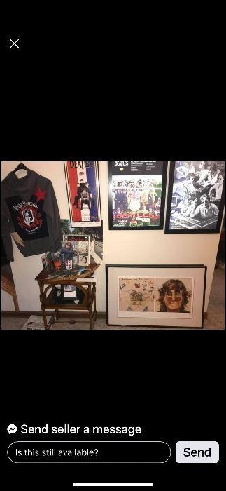 John Lennon/The Beatles Collectables