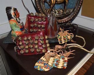Native American bracelets and Ceremonial Dance Bell Ankle Bracelets