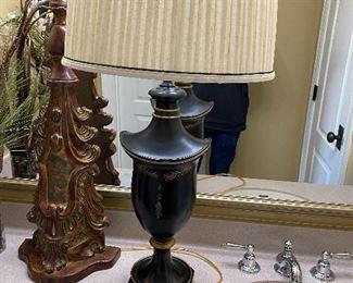 Black & Gold Lamp