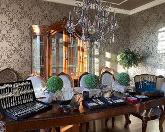 Flatware, accessories, crystal & more