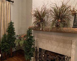 Christmas decor, custom floral arrangements