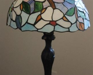 Tiffany Style Stain Glass Table Lamp