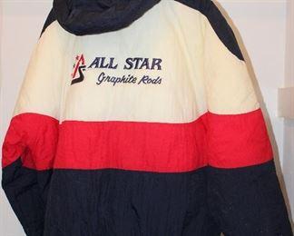 Dunbrooke Distinctive Images  All Star Graphite Rods Jacket - Showing back