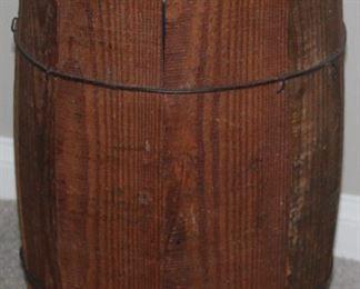 "Old Wood Powder Keg (16'H x 10""D)"