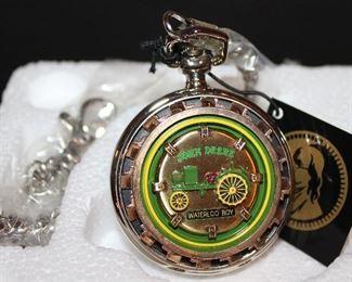 "John Deere ""Waterloo Boy"" Limited Edition Collectors Edition  Pocket Watch"
